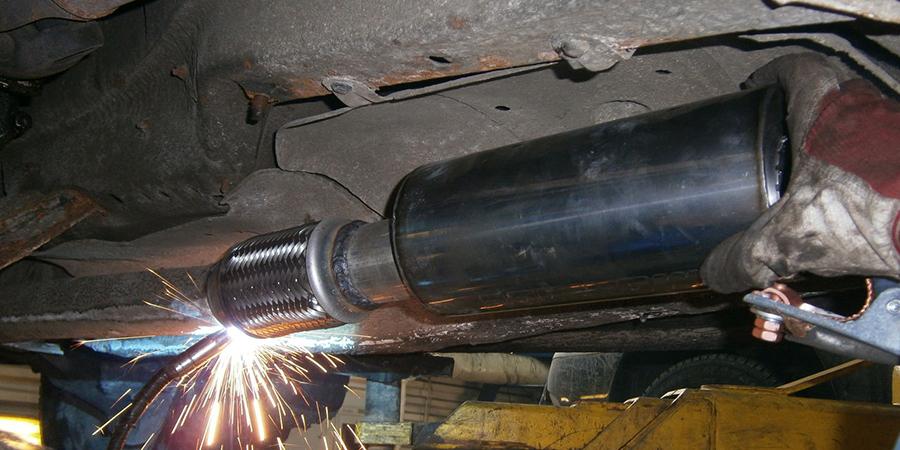 Профессиональный ремонт глушителей в Перми